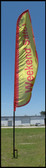 16 FOOT FLAG POLE (DOES NOT INCLUDE BANNER OR GROUND STAKE)