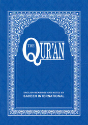 The Quran (Arabic Text With Corresponding English Meaning) By Saheeh International