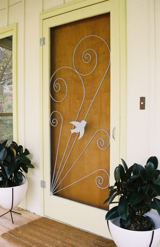 Vintage Style Screen Door Insert
