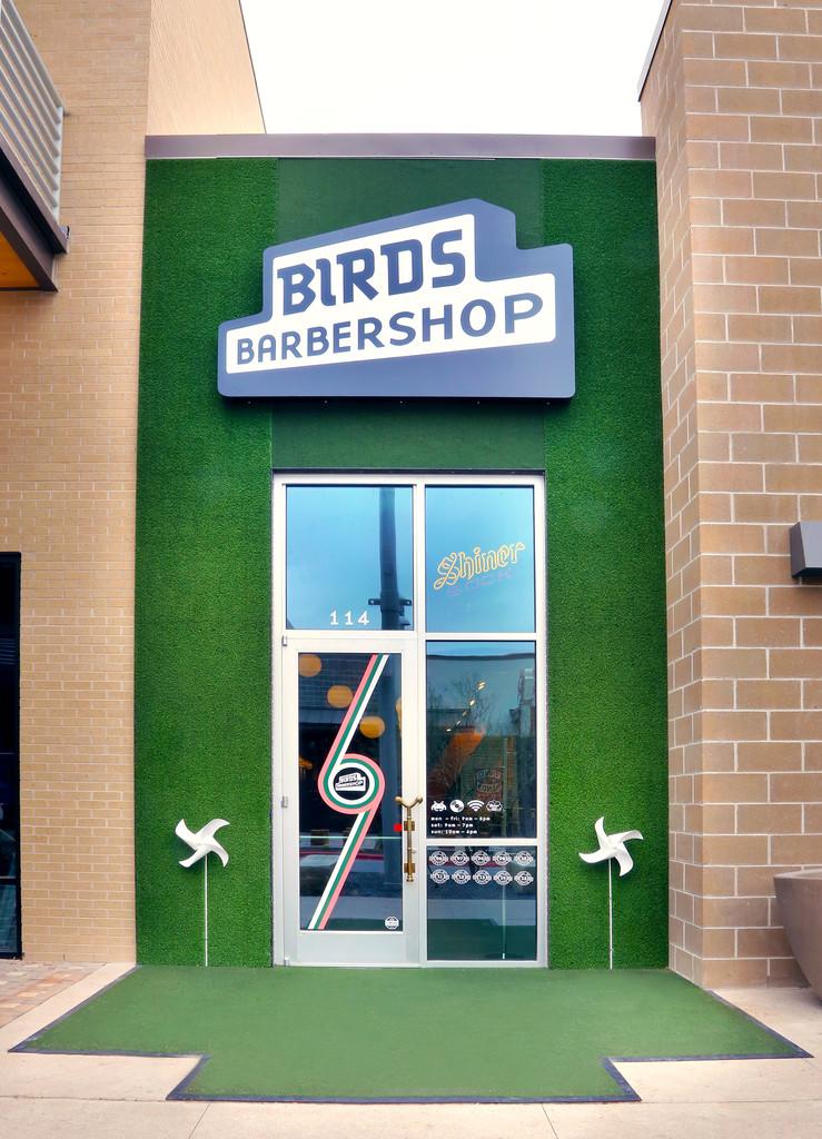 Client Spotlight: Birds Barbershop