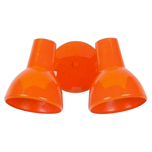 Double Bell-shade Sconce