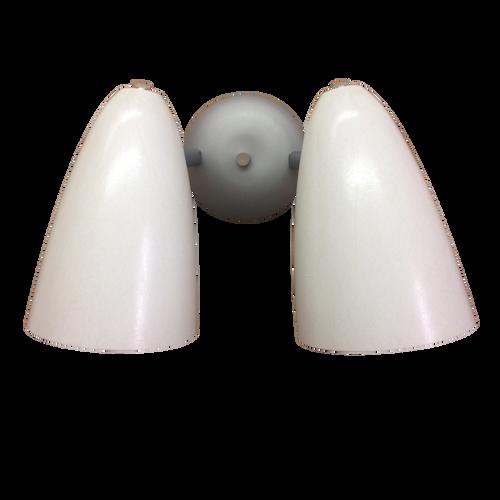 Retro Bullet Light Double Sconce