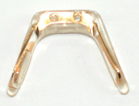 """NP437 Screw-On Silicone Gold Softwing Medium 3 Pieces   Mix-N-Match Specialty Nose Pads and Related items  $9.00 per bag on 2 to 4 bags, $8.50 on 5 to 9 bags and $8.00 on 10+ bags Final price determined by """"Shopping Cart Total"""" of """"Specialty Nose Pads"""" Specialty Nose Pads and Related items including: Saddle Straps, Softwings, Slide-On mono pads, and more Packaged in various count bags see specific items' description"""