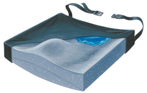 "Contour Plus+ 18"" Foam Wedge Cushion w/Gel Pad & LSII Cover"