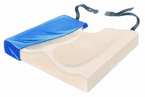 "ConForm 18"" Visco-Foam Cushion w/Coccyx Cutout & LSII Cover"