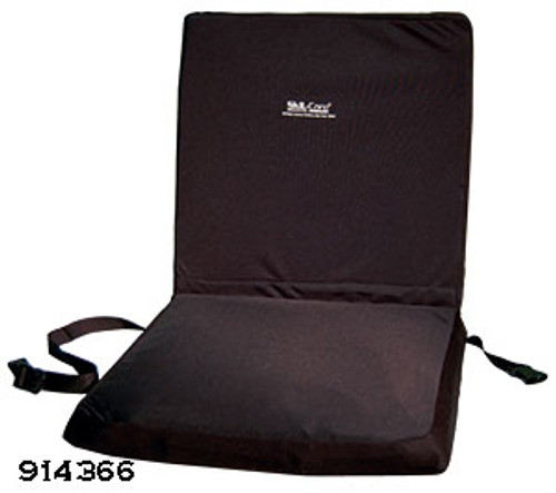 "Wheelchair 18"" Backrest Seat Combo w/Foam Seat Cushion"