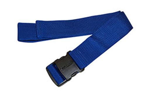 Econo Gait Belt, Blue w/Delrin Buckle