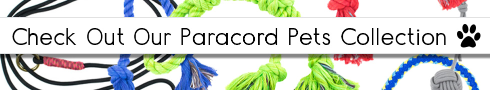 Check Out Our Paracord Pets Collection