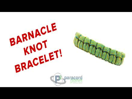 How to make a Barnical Knot Paracord Bracelet