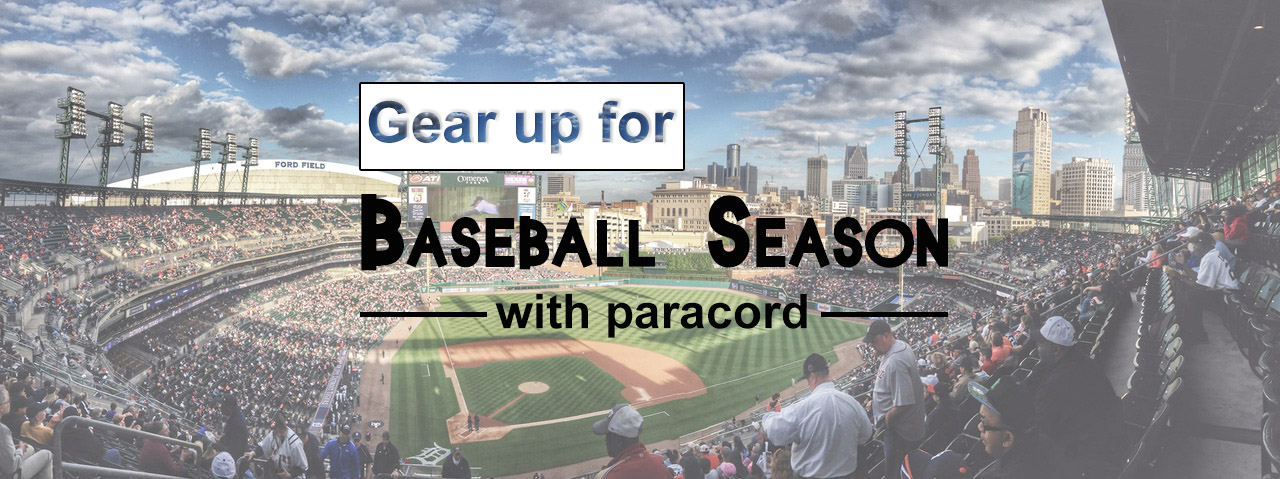 Gear up for baseball season with paracord