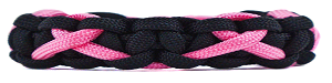 Breast Cancer Awareness Paracord Bracelet Tutorial