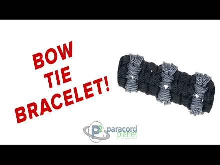 Paracord Bow Tie Bracelet Tutorial Video