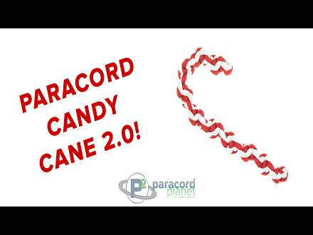 Paracord Candy Cane Video Tutorial