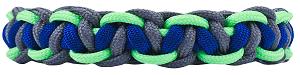 Tutorial for a 3 Color Cobra Belly Paracord Bracelet