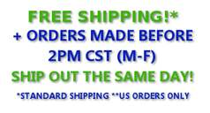 Free same day shipping!