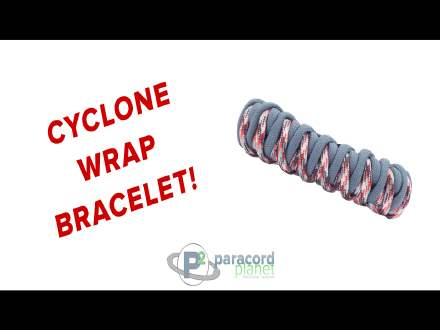 Cyclone Wrap Paracord Braclet Tutorial Video