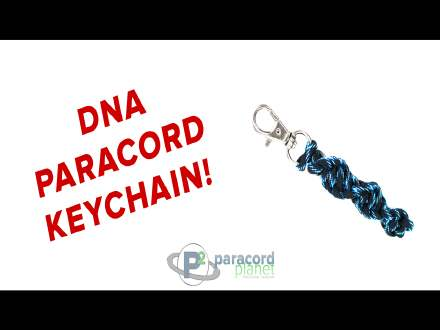 DNA Paracord Key chain video tutorial