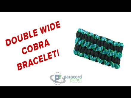 Doublewide Cobra Bracelet How-to Video