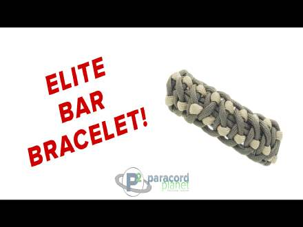 How to make the Elite Bar Paracord Bracelet
