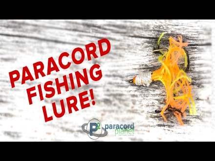 How to Make a Paracord Fishing Lure Video