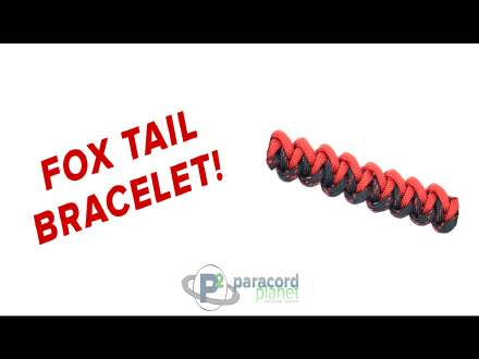 How to make a Foxtail Paracord Bracelet tutorial video