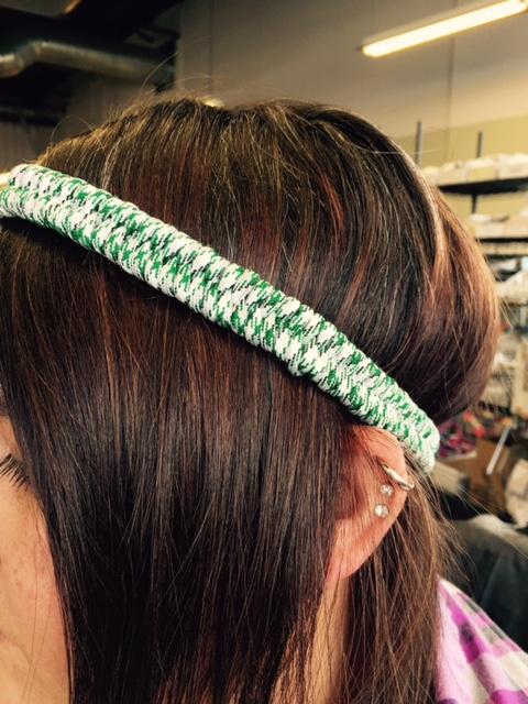 Paracord headband