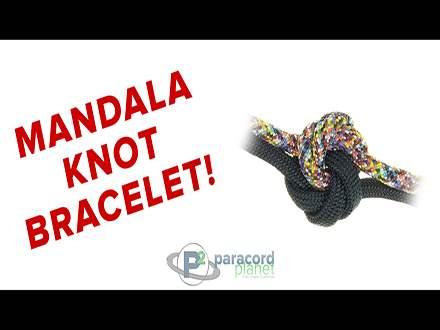 Mandala Knot bracelet tutorial