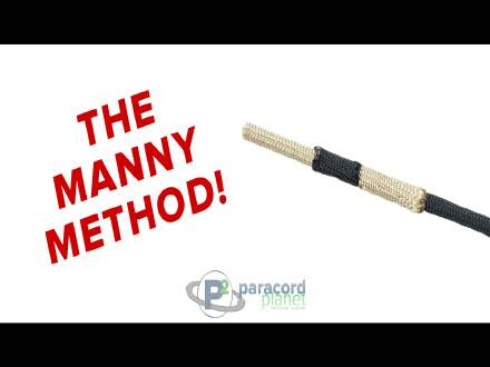 Manny Methord for joining paracord tutorail