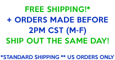 Free same day shipping!