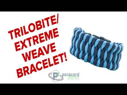 Trilobite paracord bracelet video tutorial