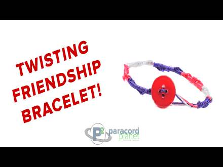 Twisting Friendship Nano Cord Bracelet video tutorial