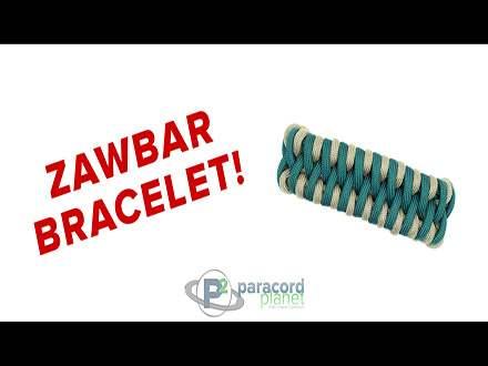 Zawbar Paracord Bracelet Tutorail Video