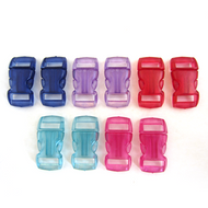 3/8 Inch Buckles (10 Pack) - Jewels