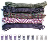 Purplicious - Combo Kit (Paracord & Buckles)