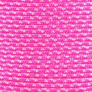 Neon Pink Zebra - 425 Paracord