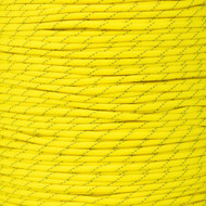 Neon Yellow - 550 Paracord with Reflective Tracers