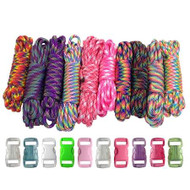 Tie-Dye - Combo Kit (Paracord & Buckles)