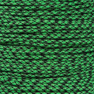 Neon Green Camo - 550 Paracord