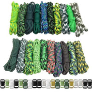 Green Giant - Combo Kit (Paracord & Buckles)