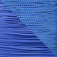 Royal Blue - 1/8 Shock Cord with Reflective Tracers