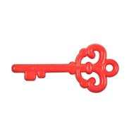 "Key ""Love"" Pendant - Red"
