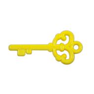 "Key ""Love"" Pendant - Yellow"