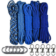 Blues Lanyard & Keychain Crafting Kit