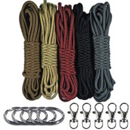Paracord - Leather Theme Lanyard Combo Kit