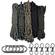 Military Theme Lanyard & Keychain Crafting Kit