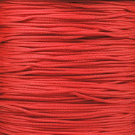 Scarlet Red 95 Paracord (1-Strand) - Spools