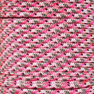 Pretty in Pink Camo 325 Paracord (3-Strand) - Spools