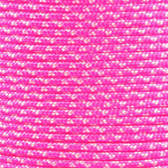 Neon Pink Zebra 425 Paracord (3-Strand)  - Spools