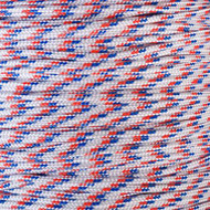 Red White & Blue 425 Paracord (3-Strand)  - Spools
