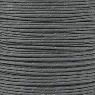 Reflective Charcoal Grey 550 Paracord (7-Strand) - Spools